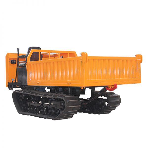 3 ton crawler mini dumper with hydraulic system