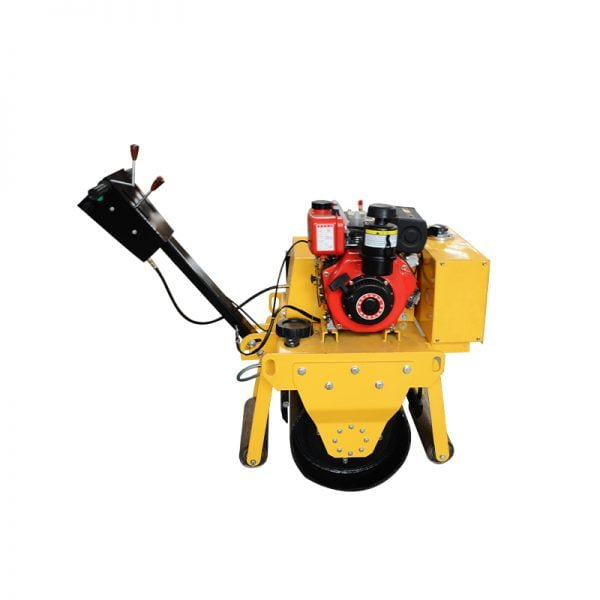 small mini single drum asphalt roller