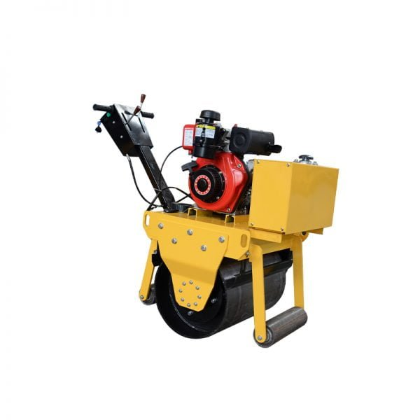 road roller single drum walk behind