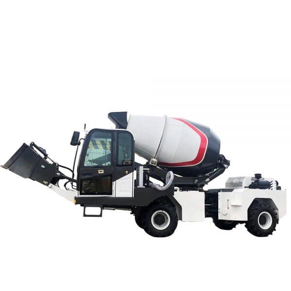 concrete drum mixer truck