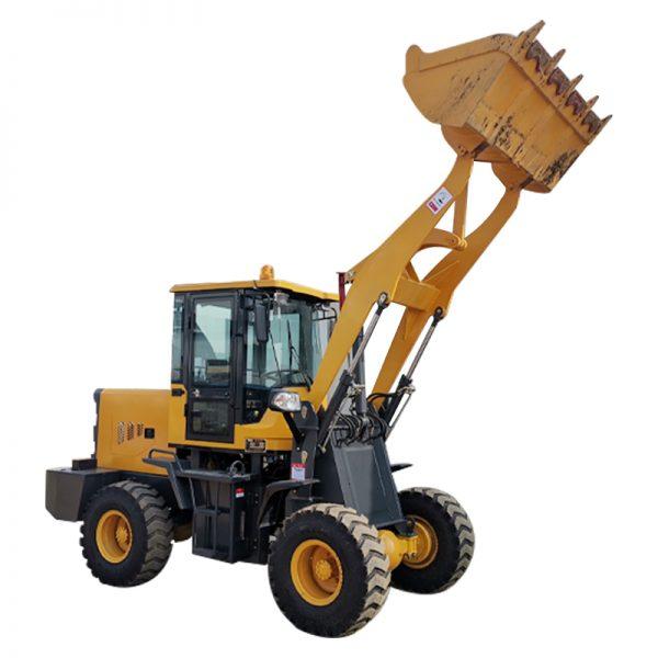 small wheel loader