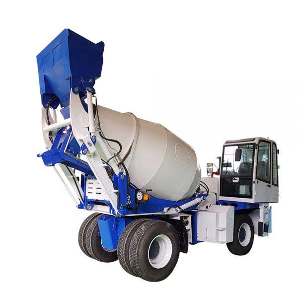 1.2cbm concrete mixer truck