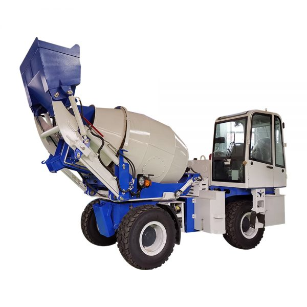 self loading concrete feeding mixer with truck