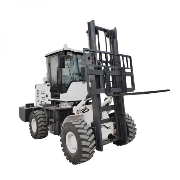 small off road forklift