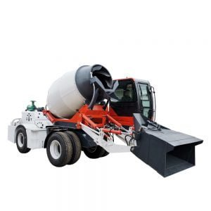 mini concrete truck