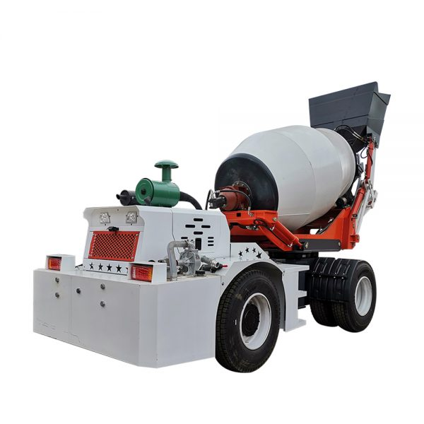 3.5 cubic meters concrete mixer truck