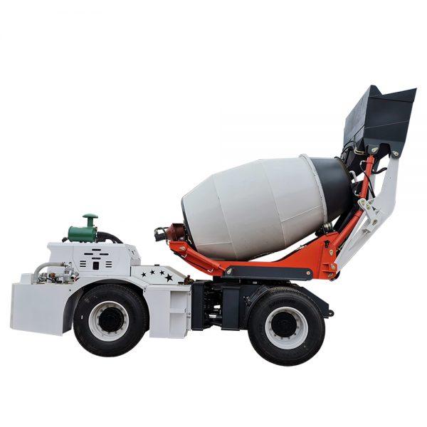 concrete truck mixer price