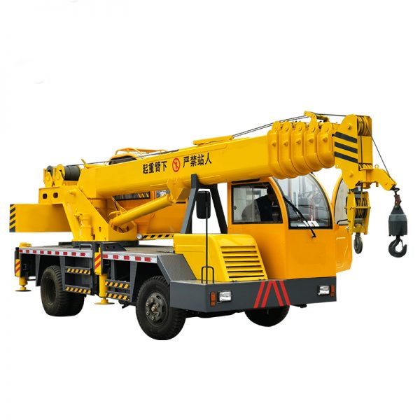 360 degree rotation truck crane