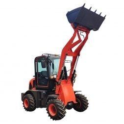 red zl910 loader mini
