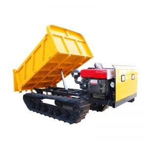 8 tons dumper truck with log grapple