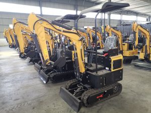 1 Ton Mini Crawler Excavator For Sale