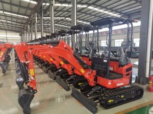 1.8 ton mini excavators for sale