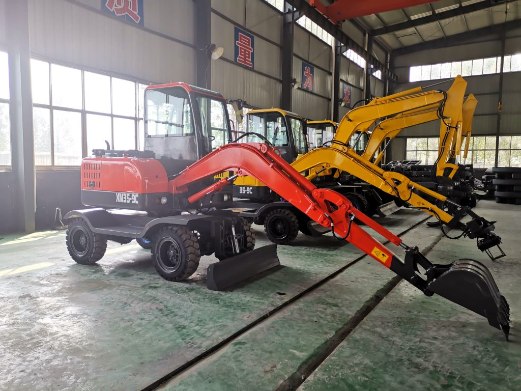 3.5 tons mini crawler excavator factory
